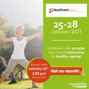 nutrevent show senior nutrition healthy ageing dairy ingredients innovation round table