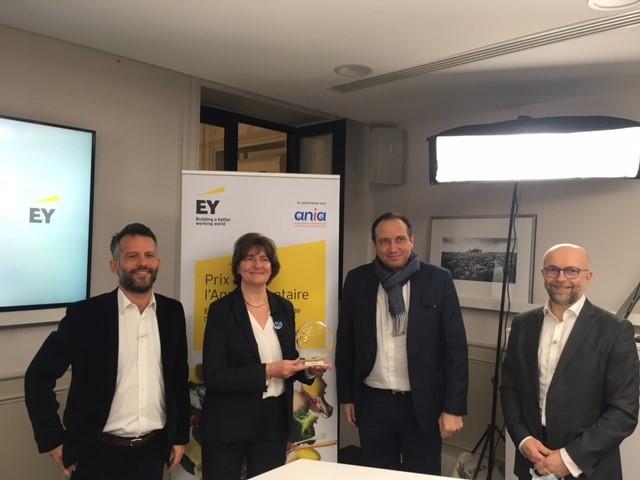 prix Ernst & Young engagement sociétal et environnemental partenariat ania
